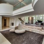 2700 Point Lane foyer. Michael Jordan estate